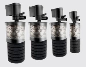Механические фильтры для аквариума, фото