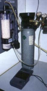Счетчик пузырьков и кальциевый реактор
