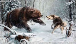 Собака любит охоту